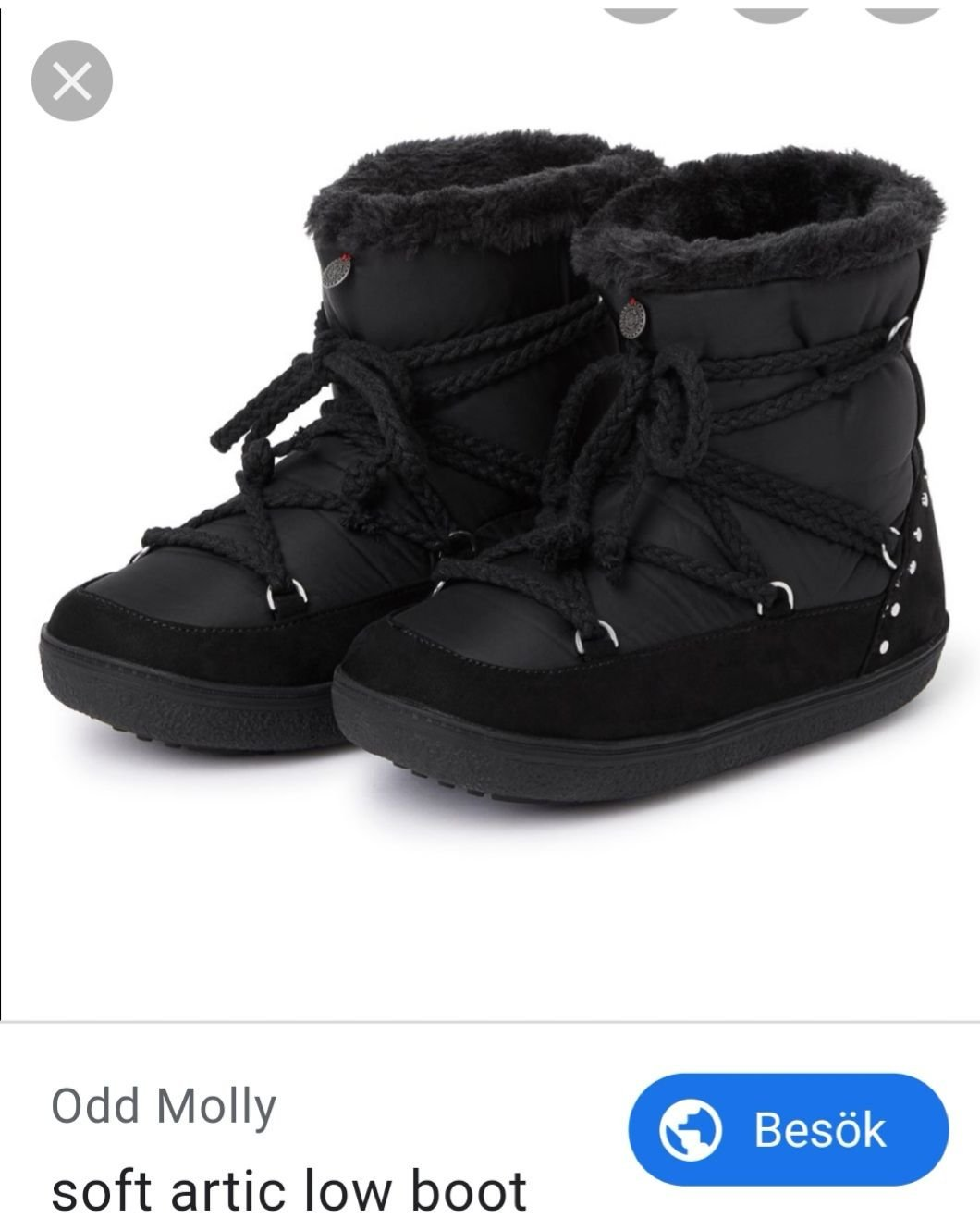 ~ Odd Molly Artic Low Uggs stl.38 39 Fint skick ~