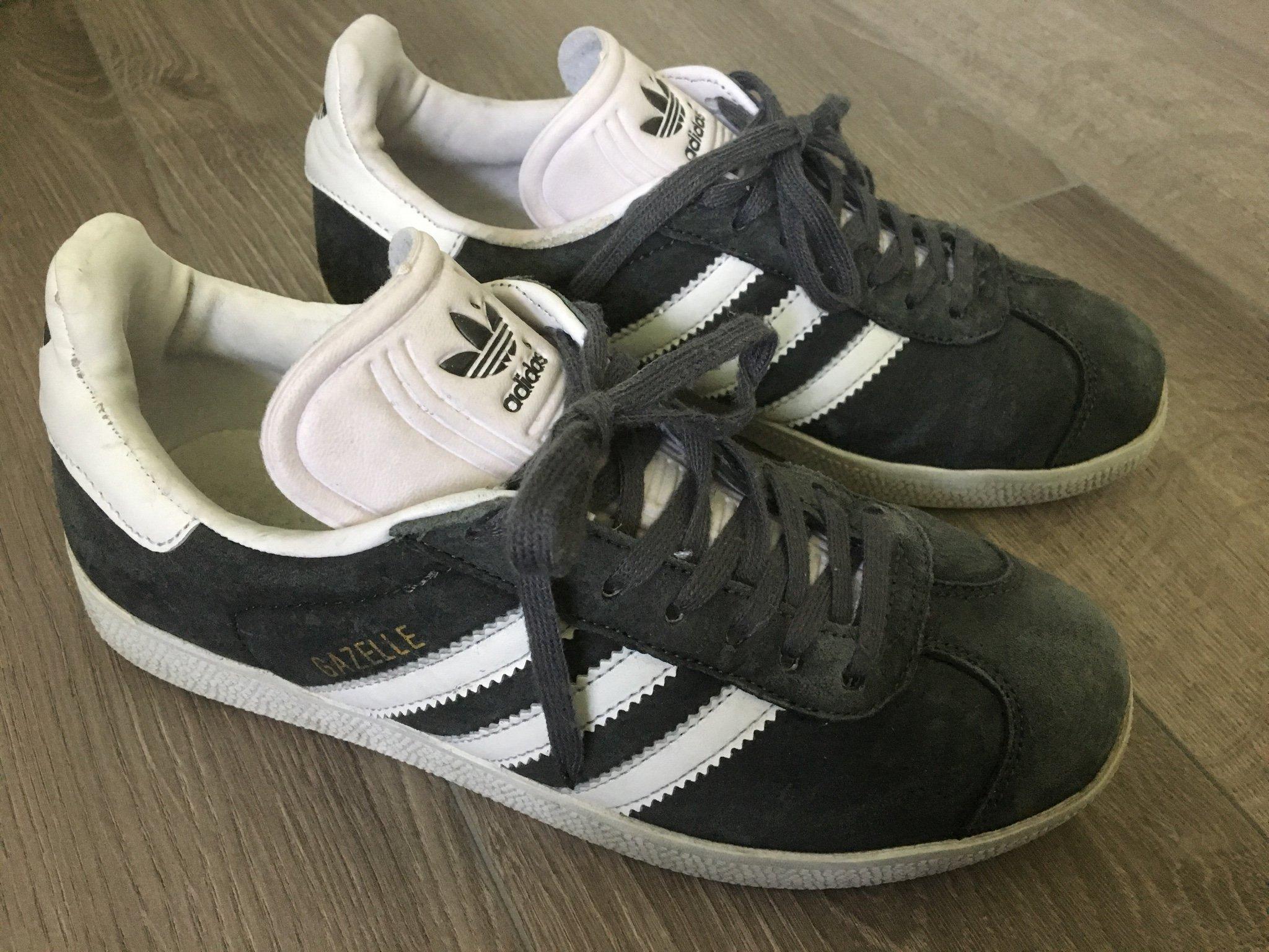 Adidas gazelle grå (396360830) �?Köp på Tradera