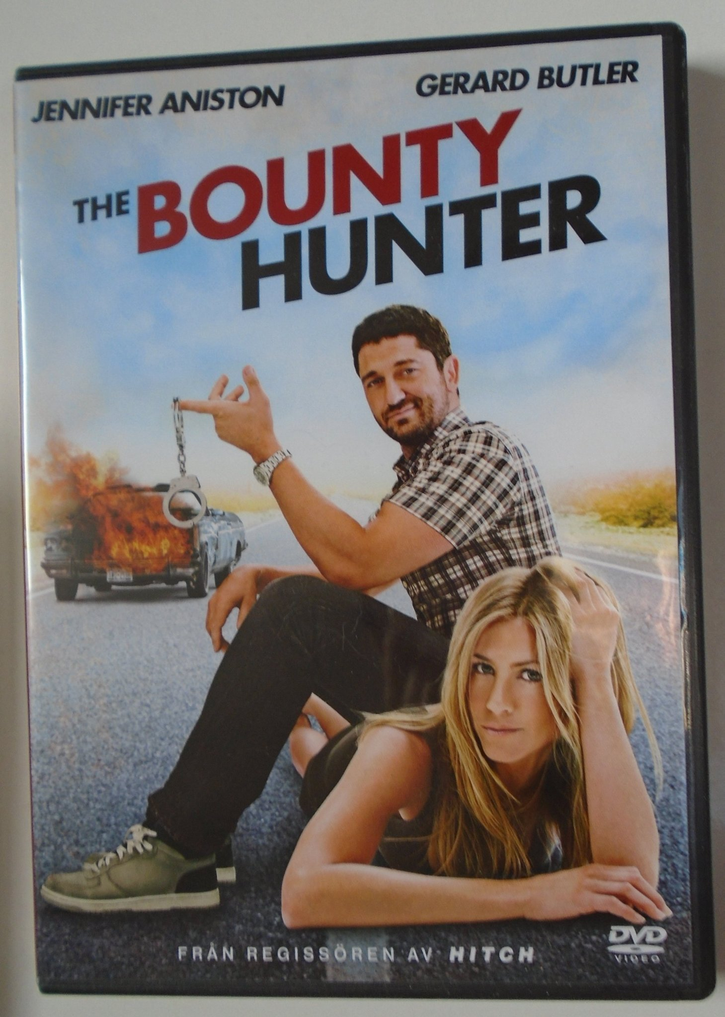 Dvd The Bounty Hunter Action/komedi Gerard Butler Jennifer Aniston