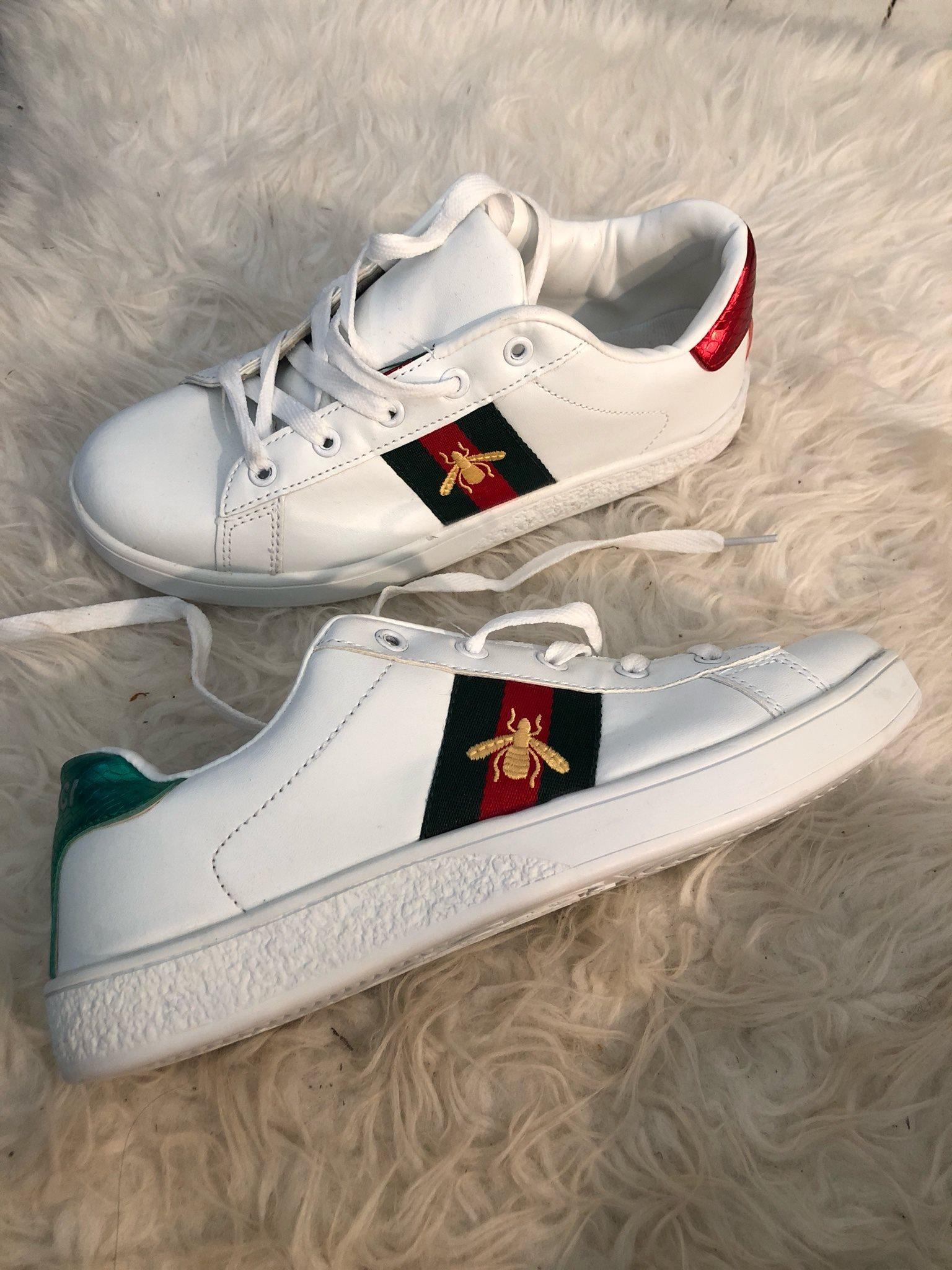 11666ea61e3 Sneakers vita helt nya oanvända strl 38 (328016617) ᐈ Köp på Tradera