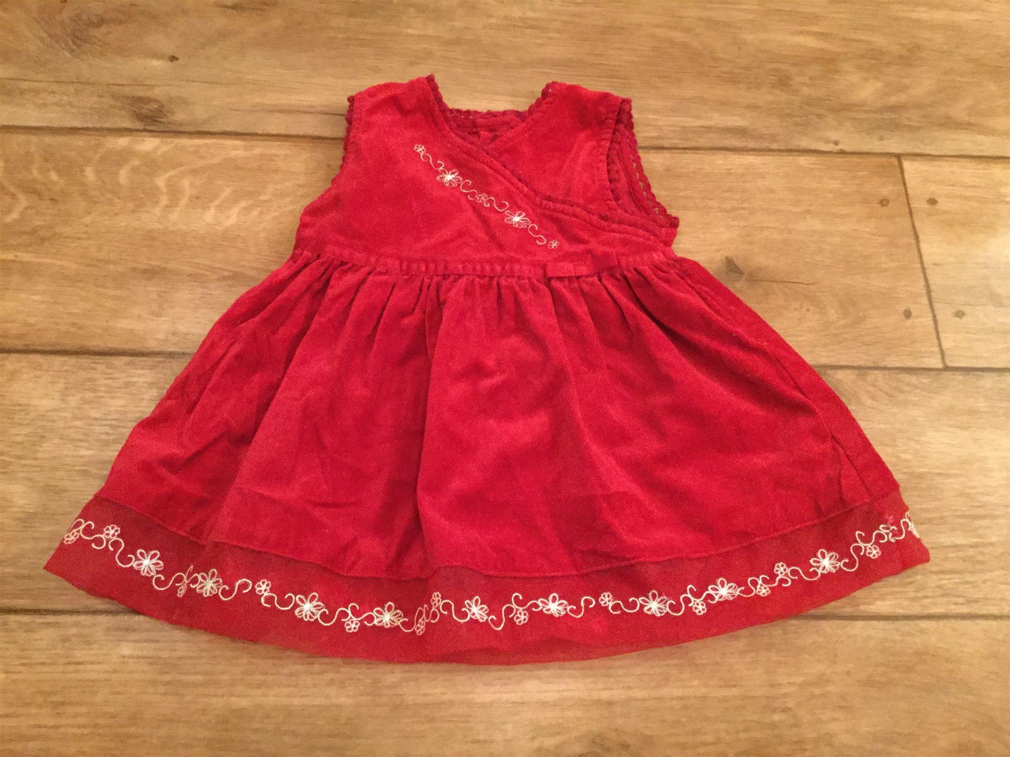 5a061f2b2cff Röd julklänning jul klänning stl 56 st. Bernard (331651490) ᐈ Köp ...