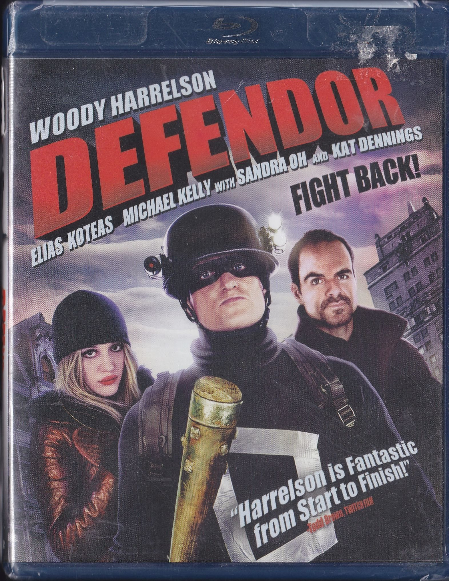 Defendor Woody Harrelson 2009 Blu Ray Ny Eng