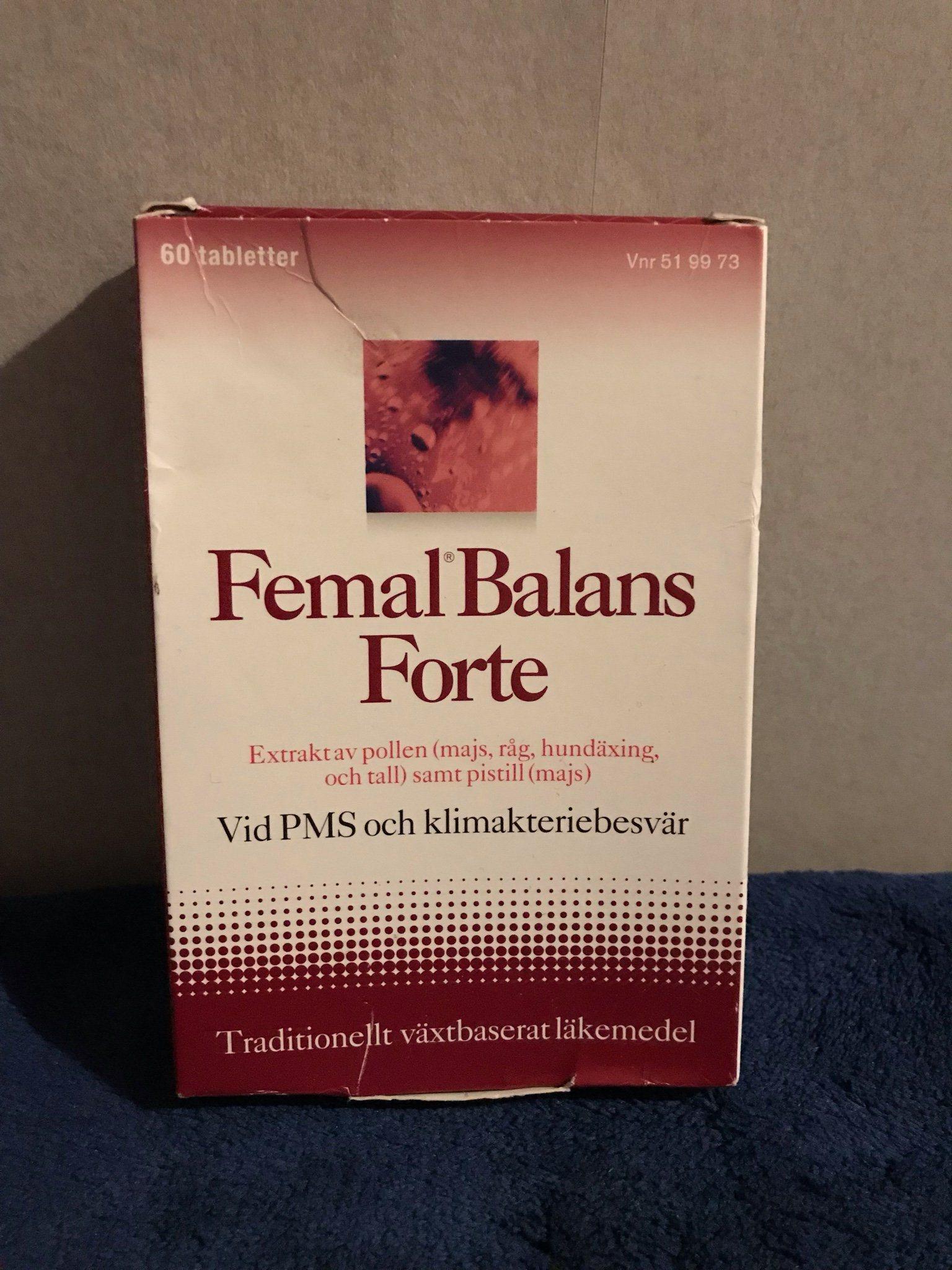 femal balans klimakteriet
