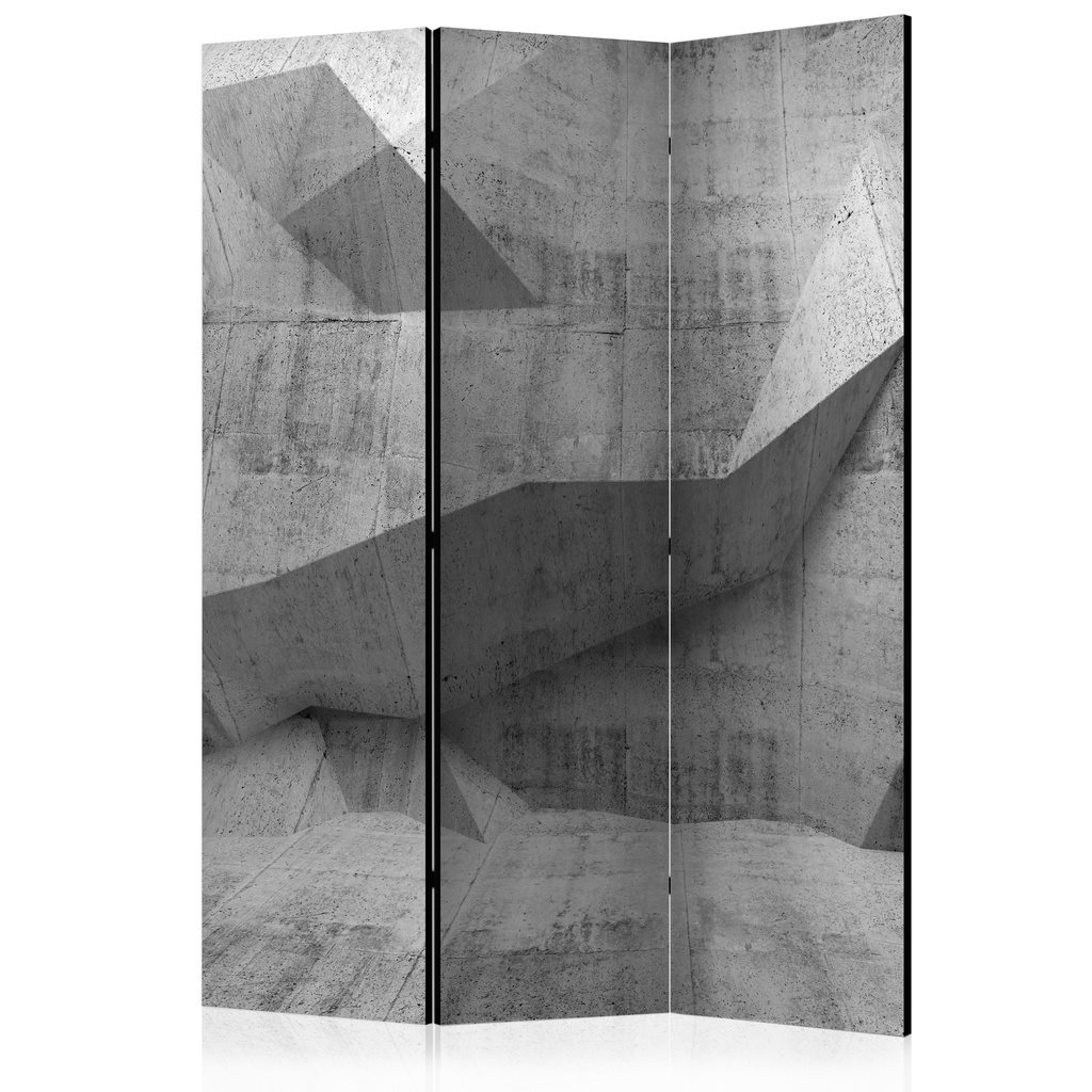 Rumsavdelare - Concrete Geometry Room Dividers 135x172