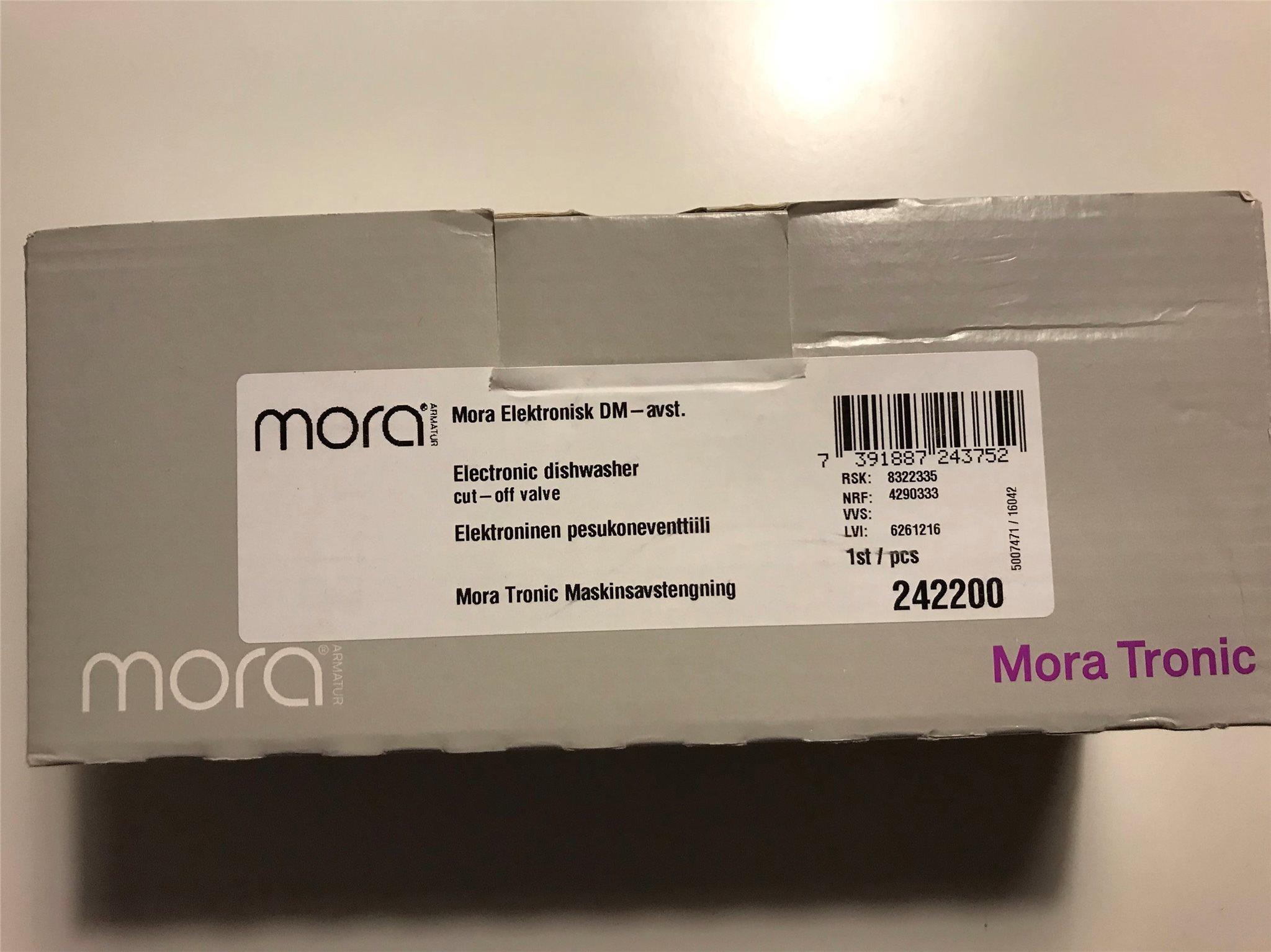 Diskmaskinsavstängning Mora Elektronisk, Elektronisk, Elektronisk, ny i kartong 7ec181