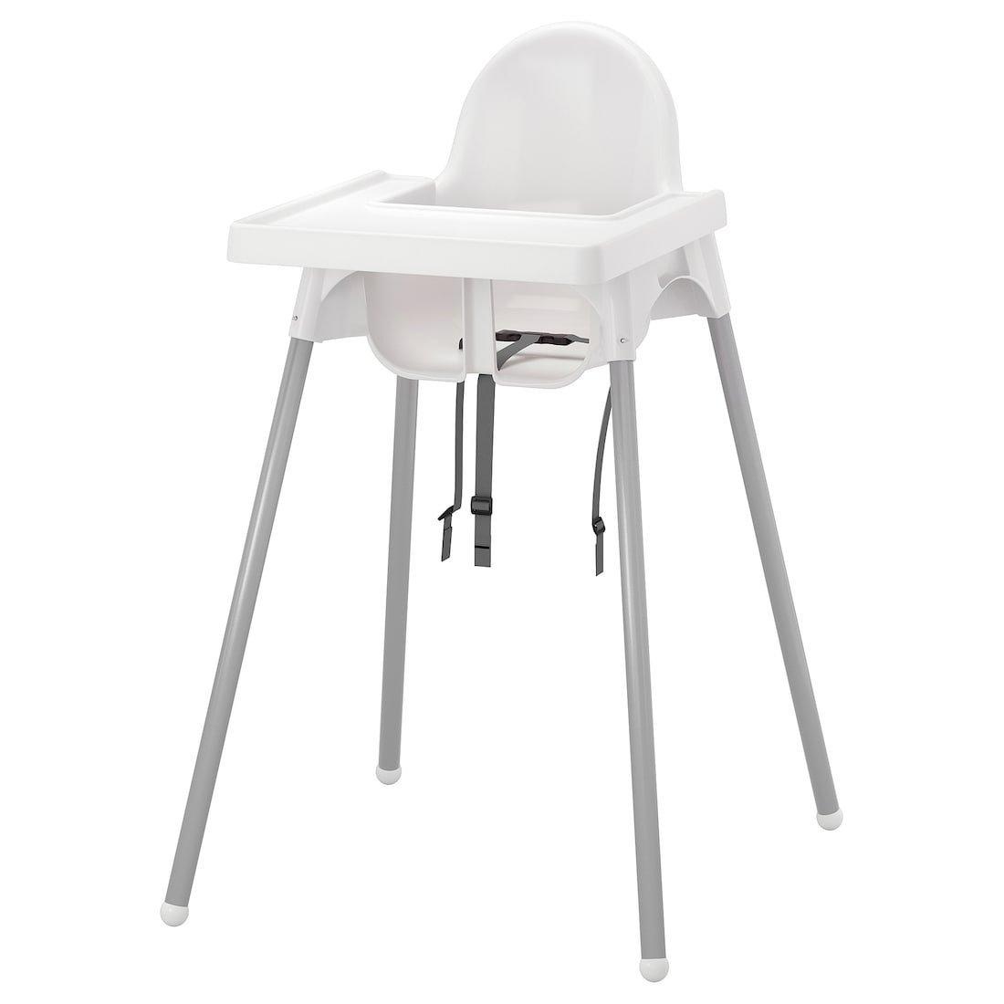 2st Antilop barnstol med bricka, IKEA