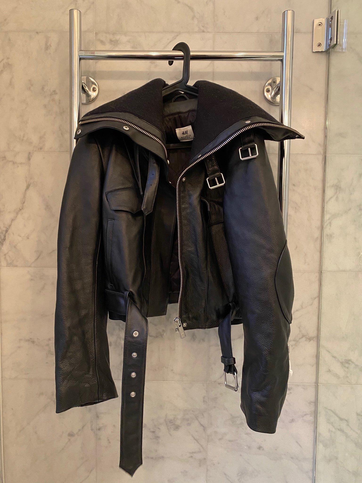 H&M studio collection aw2018 skinnjacka