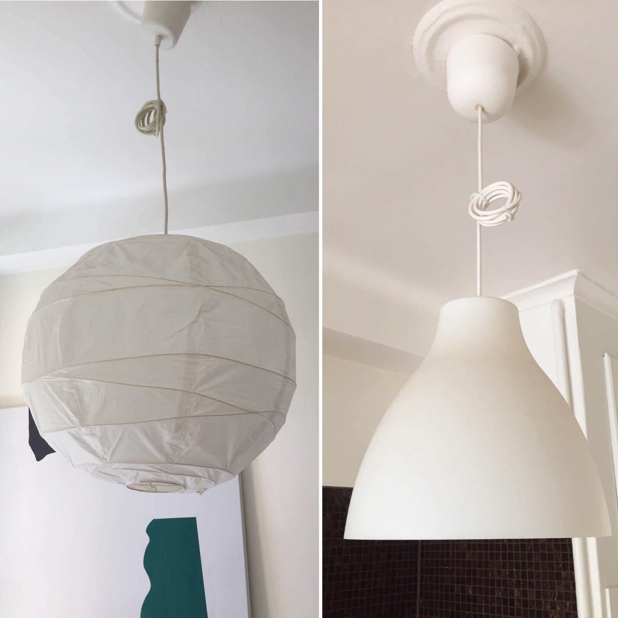 2 st lamp shades paket: Ikea Melodi & Regolit (408155516) ᐈ