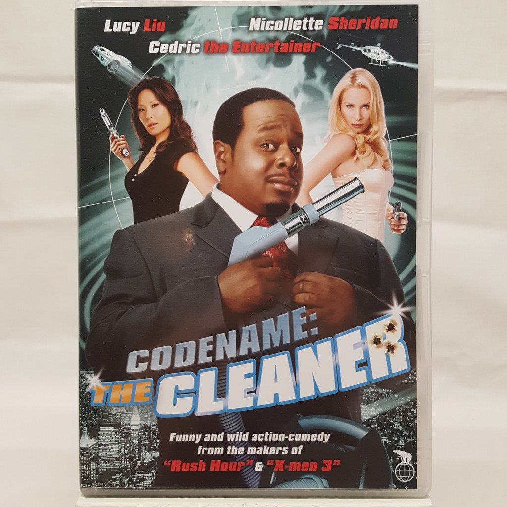 Codname The Cleaner DVD