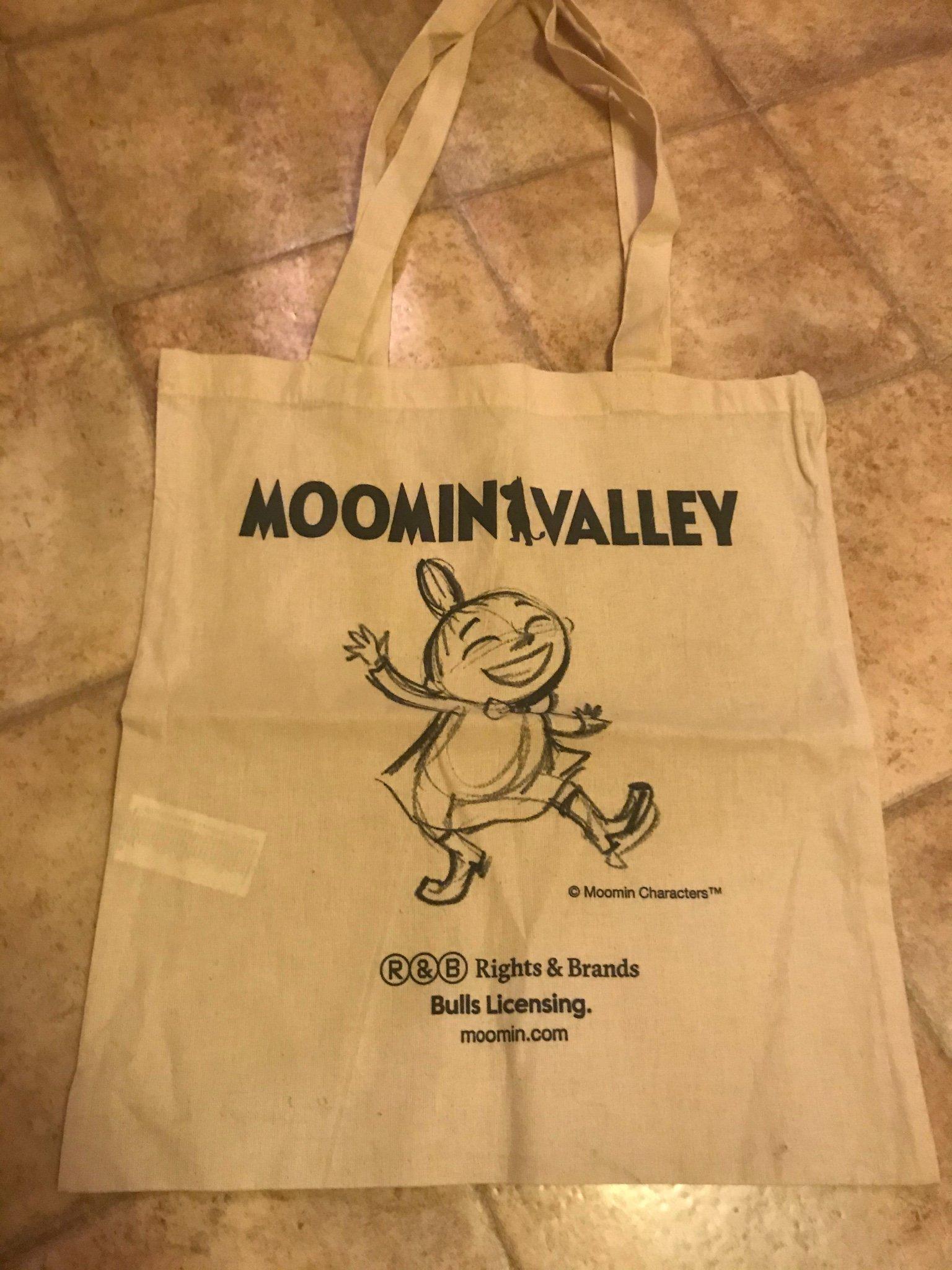 3 påsar väskor väska , kasse mumin , lilla my