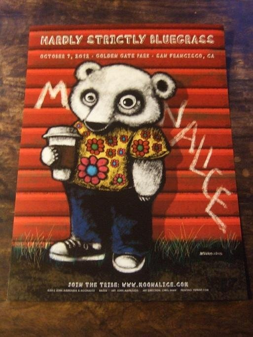 KONSERTPOSTER / Moonalice / Hardly Strictly Bluegrass 2012