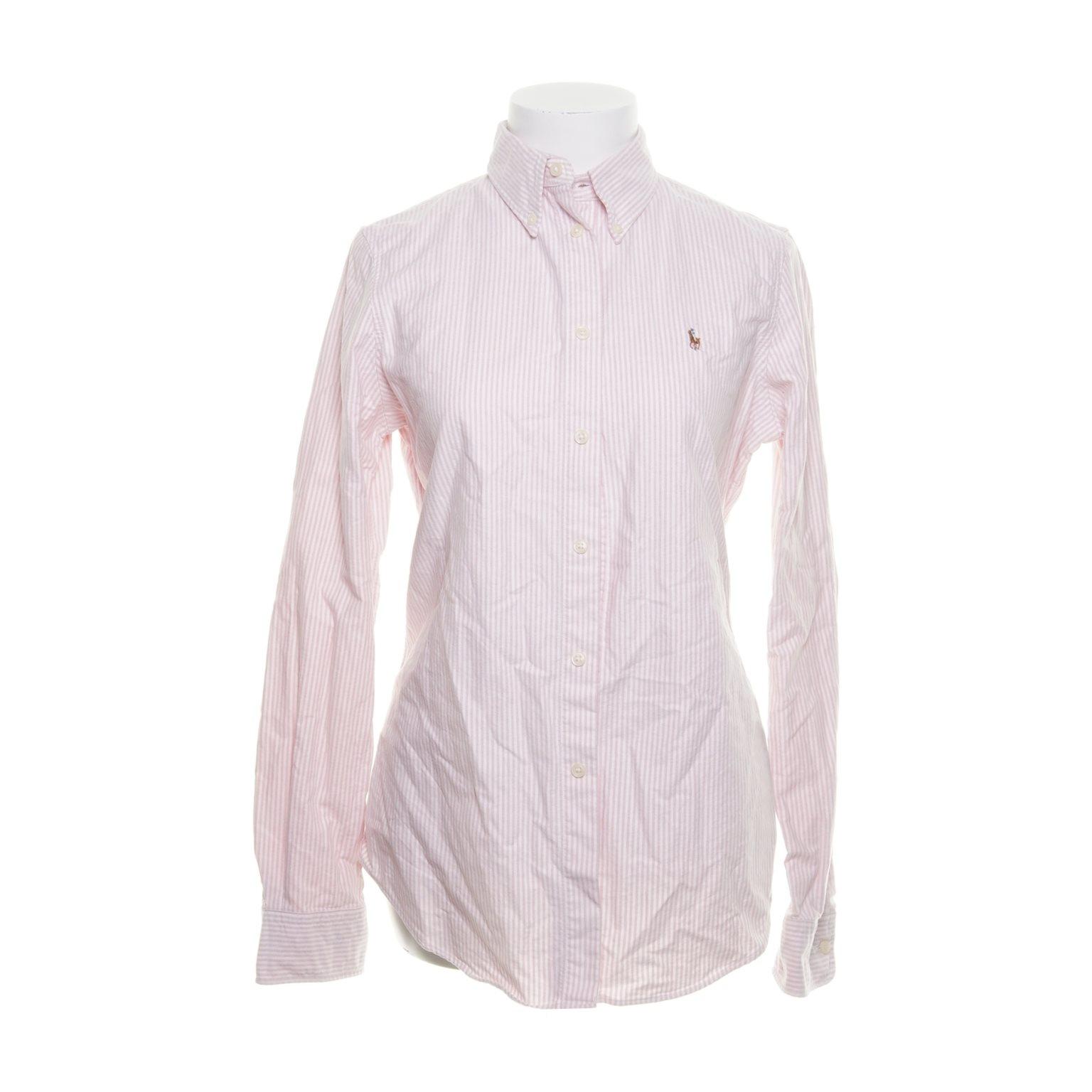 vit polo skjorta