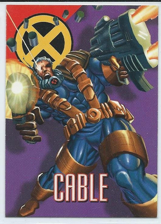 MARVEL X-MEN  SAMLARKORT - CABLE