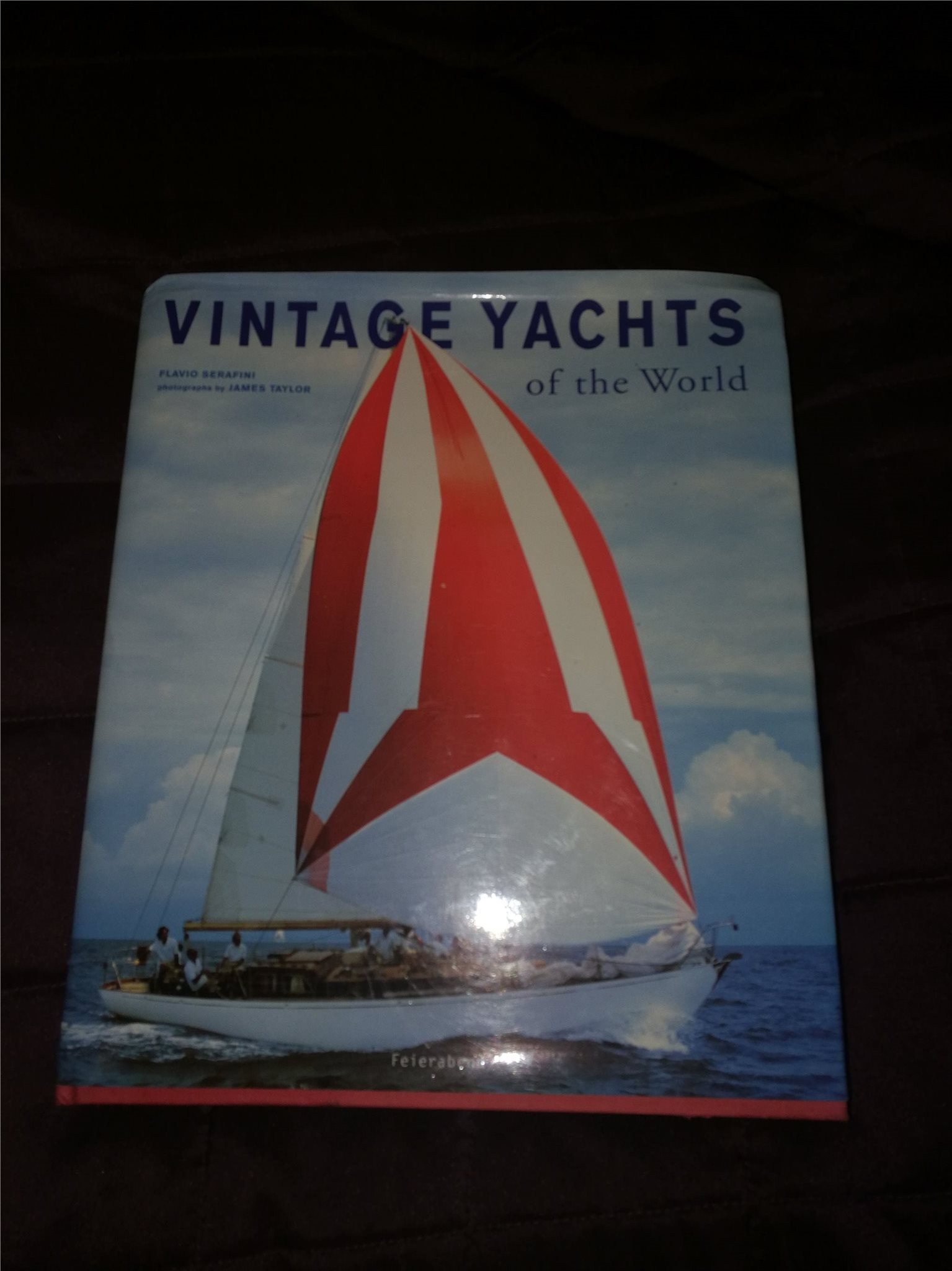 Vintage yachts of the world.