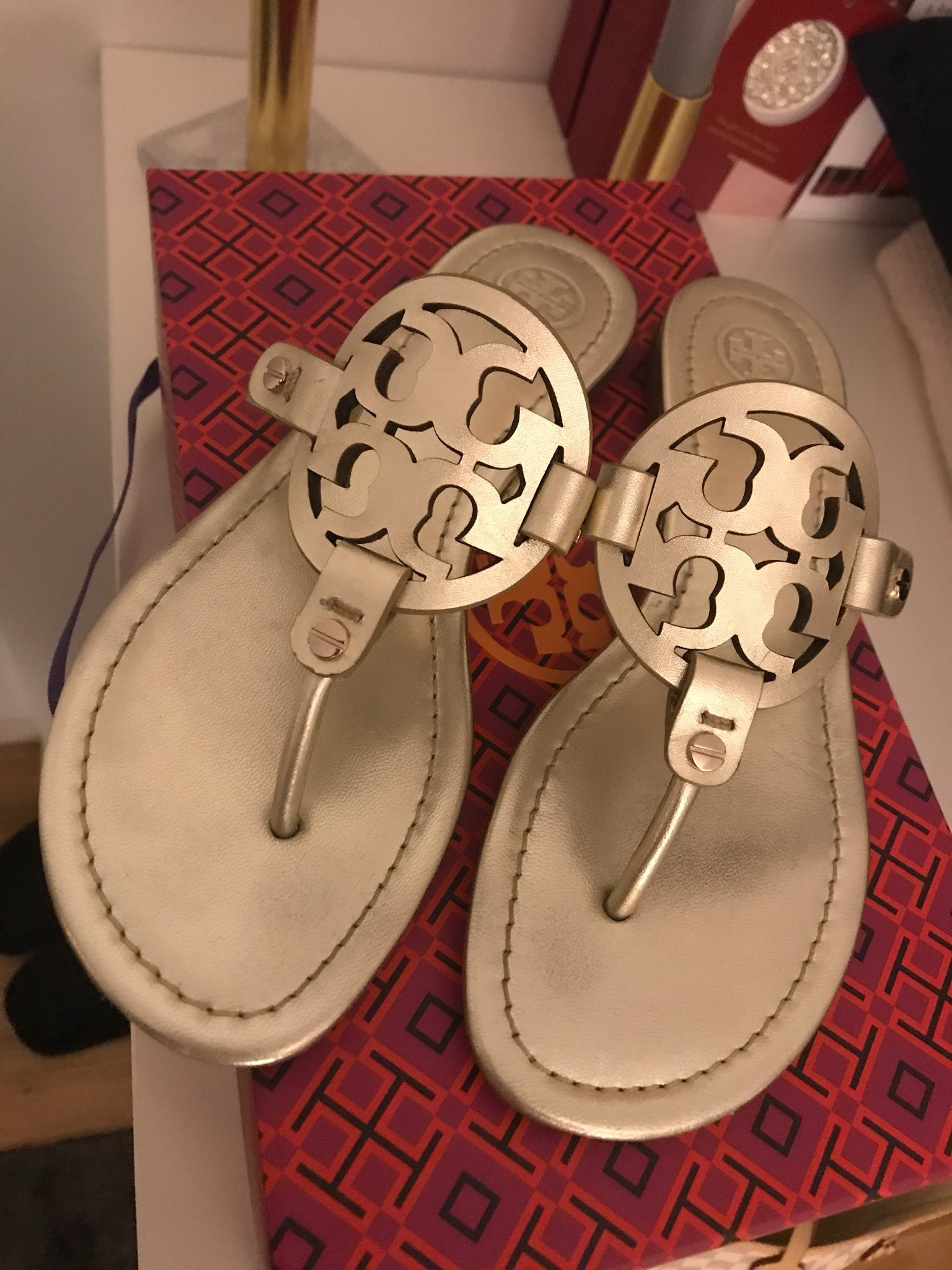 Tory Burch sandaler (327000267) ᐈ Köp på Tradera ac1b6e777c4a3