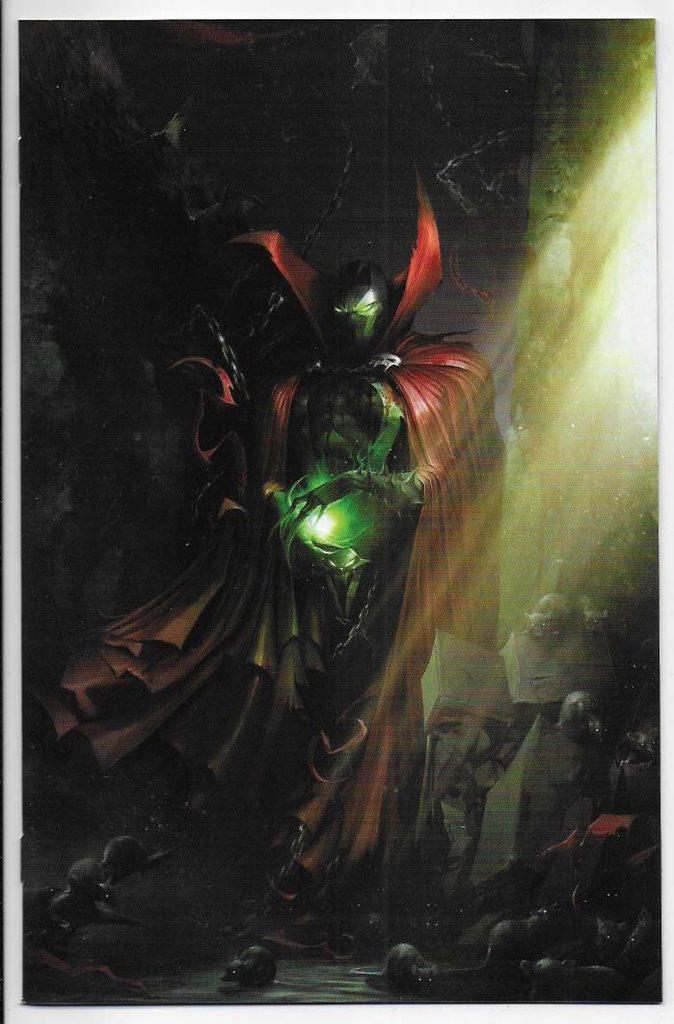 Spawn # 291 Cover B NM Ny Import