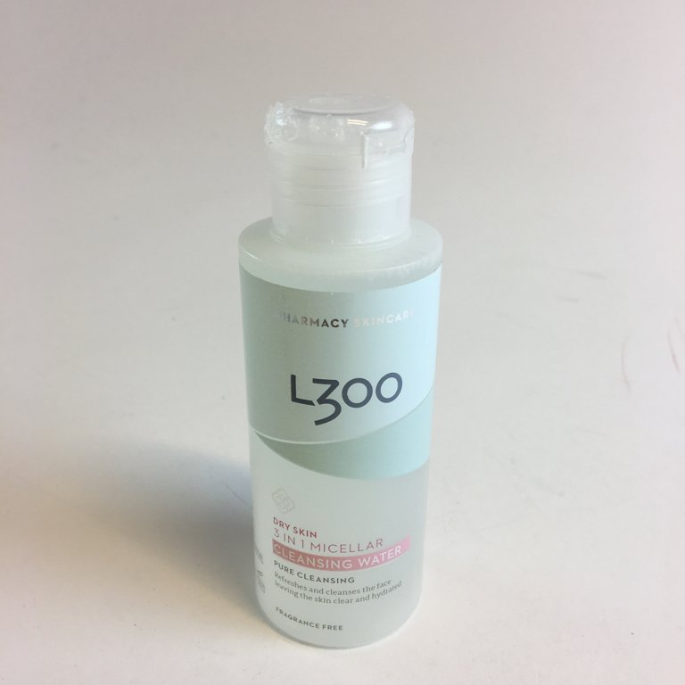 L300, Ansiktsrengöring, 3 in 1 Micellar Cleansing Water, Vit, 100 ml