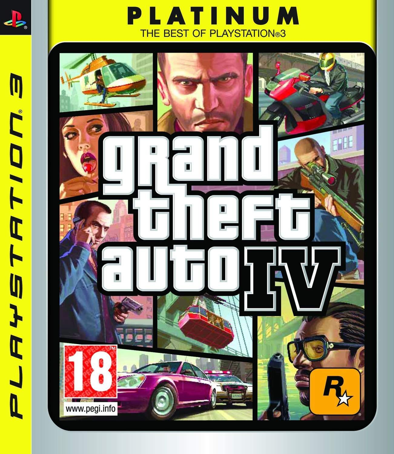 Grand Theft Auto IV - Platinum - Playstation 3