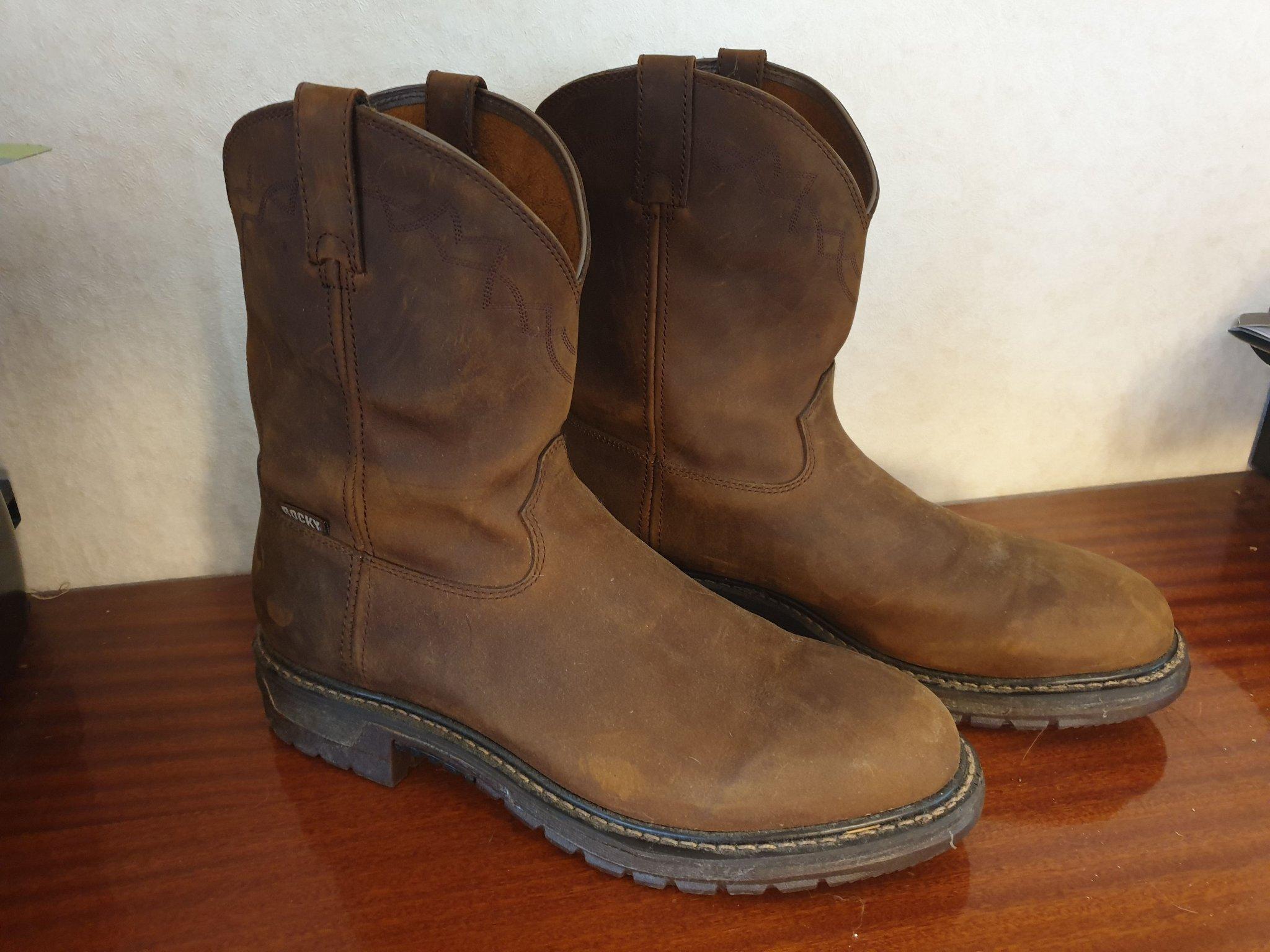 Boots storlek 50, us: 15 (410982907) ᐈ Köp på Tradera