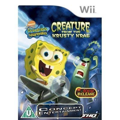 SPONGEBOB SQUAREPANTS CREATURE FROM THE KRUSTY KRAB (komplett) till Nintendo Wii