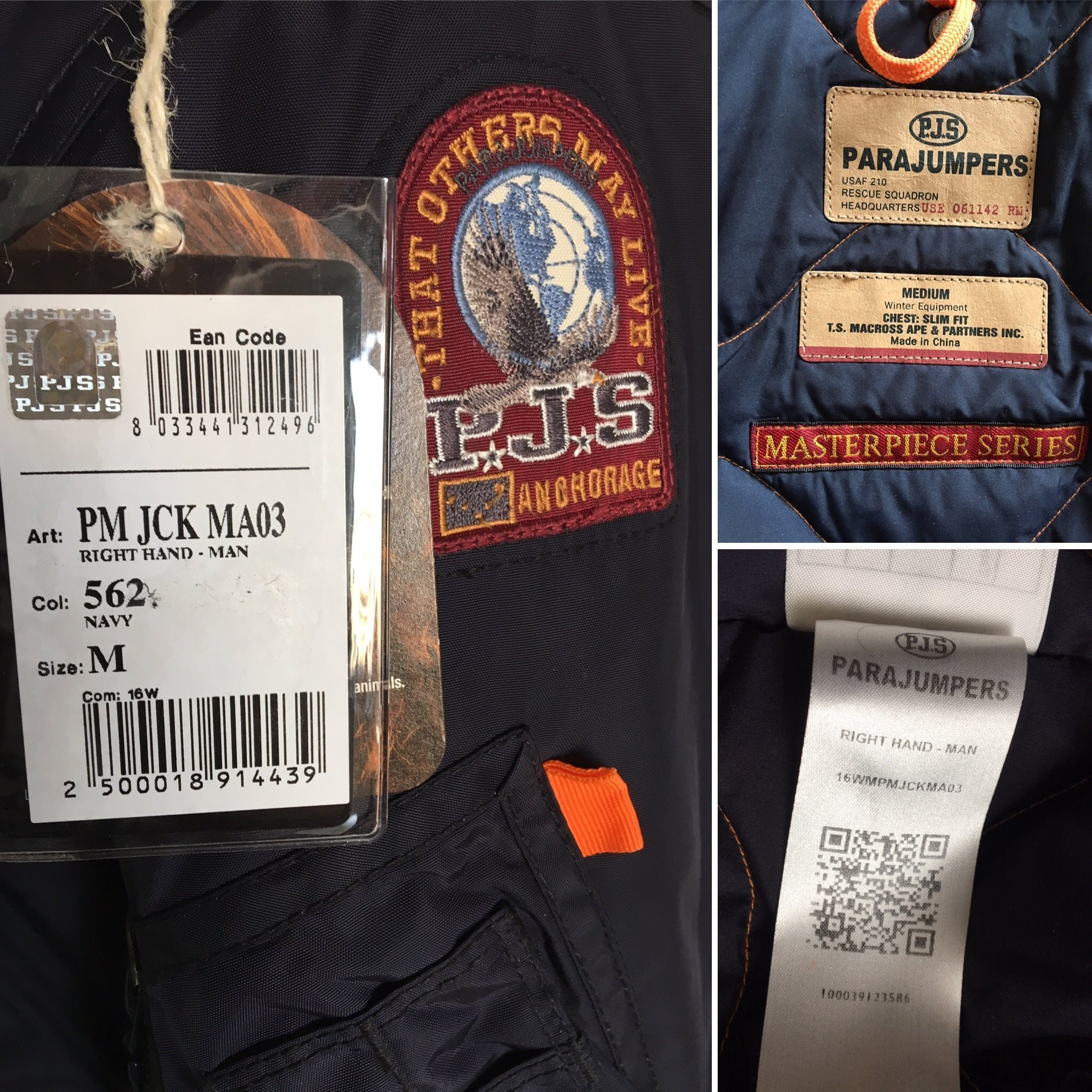 parajumpers ean code