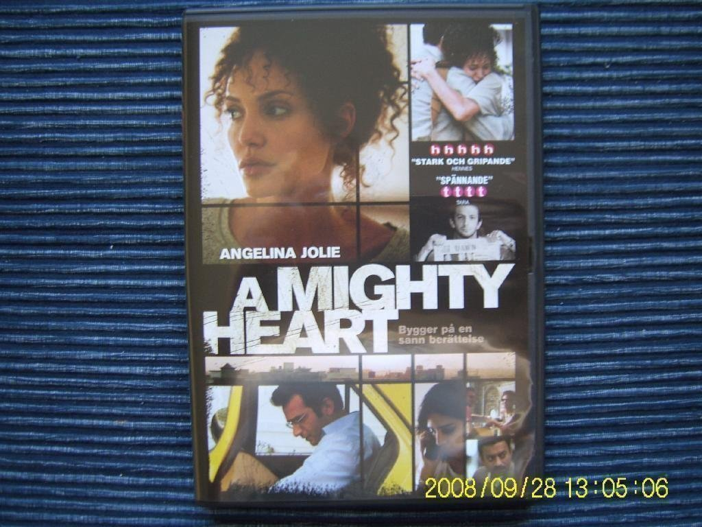 DVD - A mighty heart