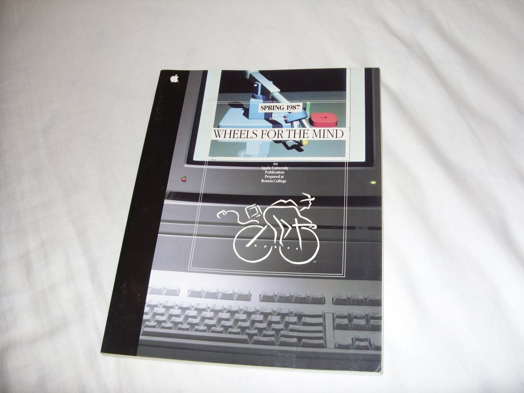 ce4741f9da8 Apple University Spring 1987 Vol 3 No 2 Wheels For The Mind by Boston  College