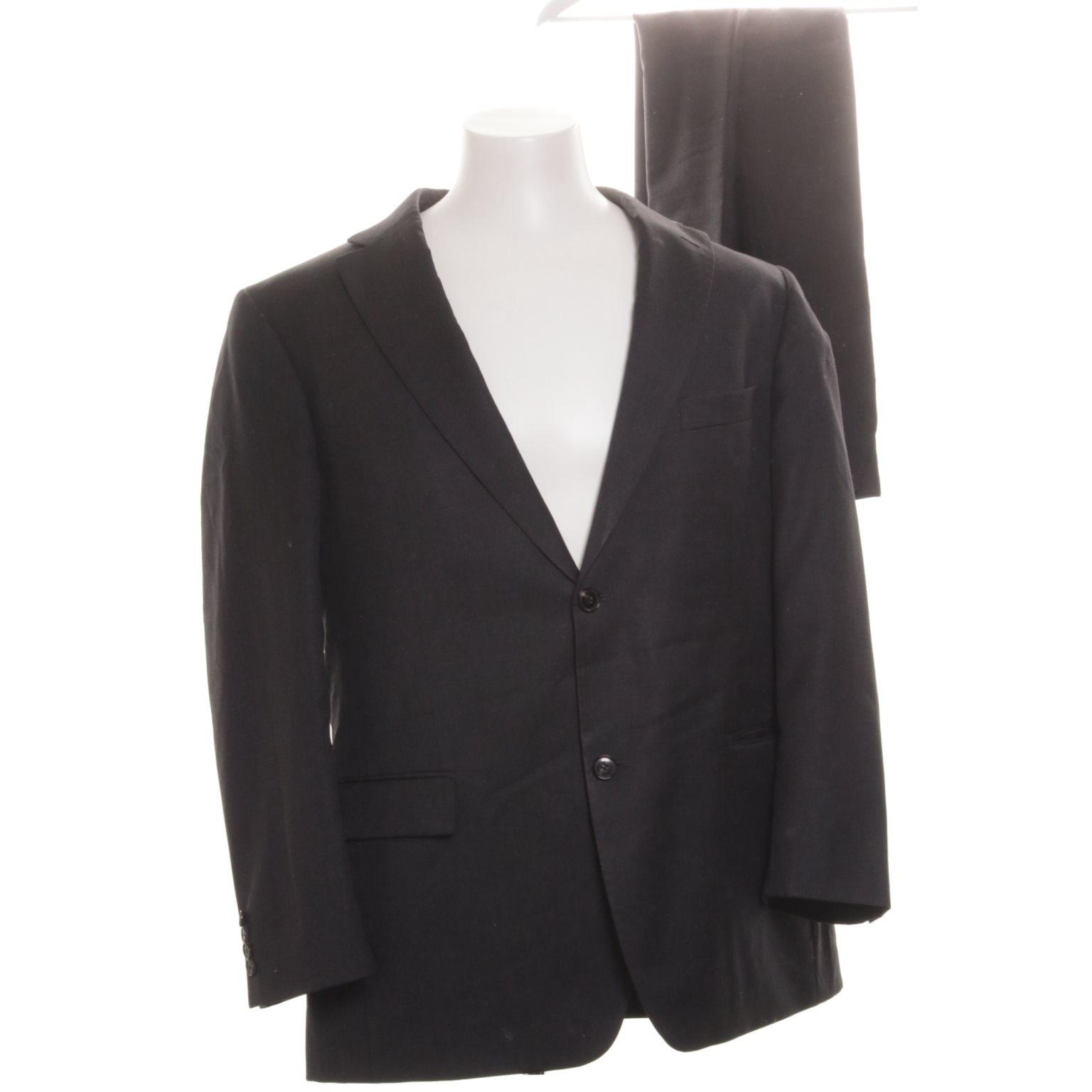 Boss Hugo Boss, Kostym, Strl: 54, Grå, Ull