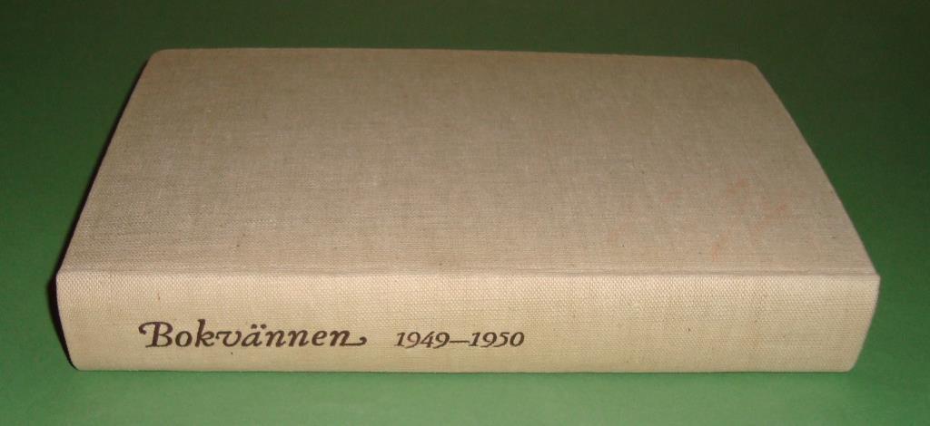 Bokvännen 1949-1950.