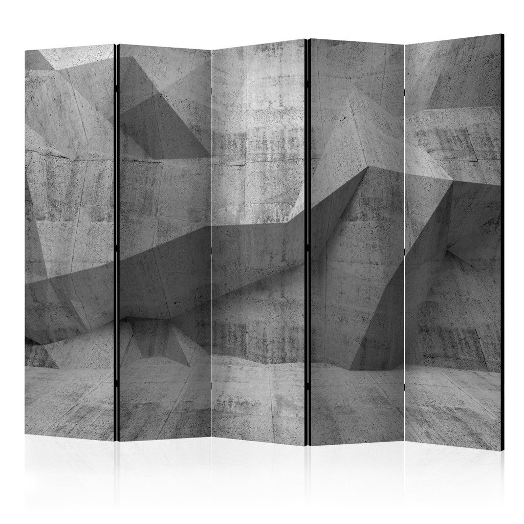 Rumsavdelare - Concrete Geometry II Room Dividers 225x172