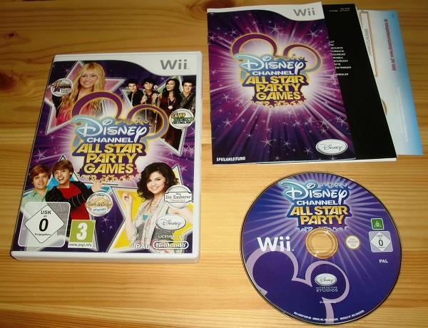 Wii disney channel all star p 280740540 svenskatvspel p tradera wii disney channel all star party games publicscrutiny Image collections