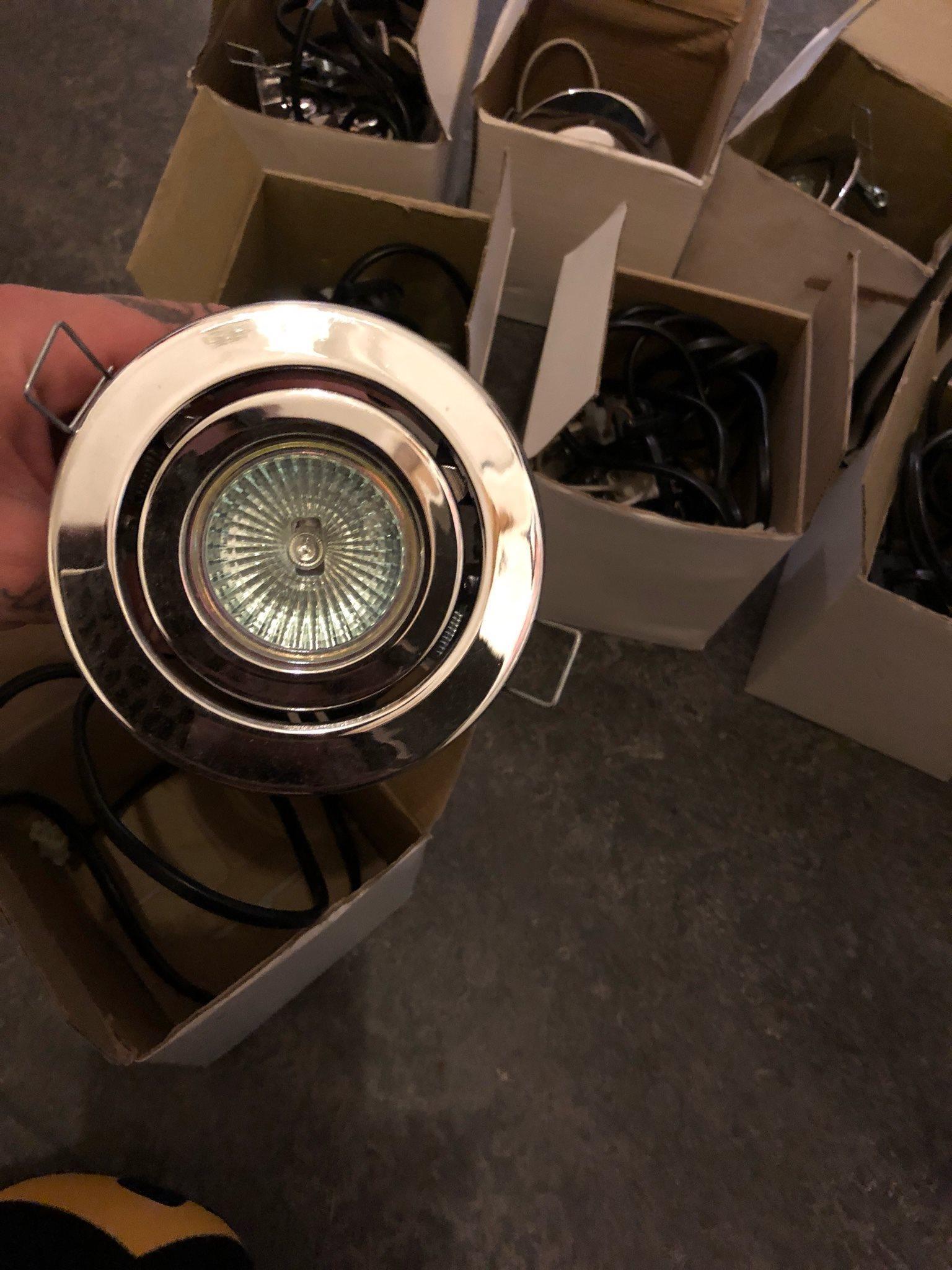 Spotlights lampor 10 st nya