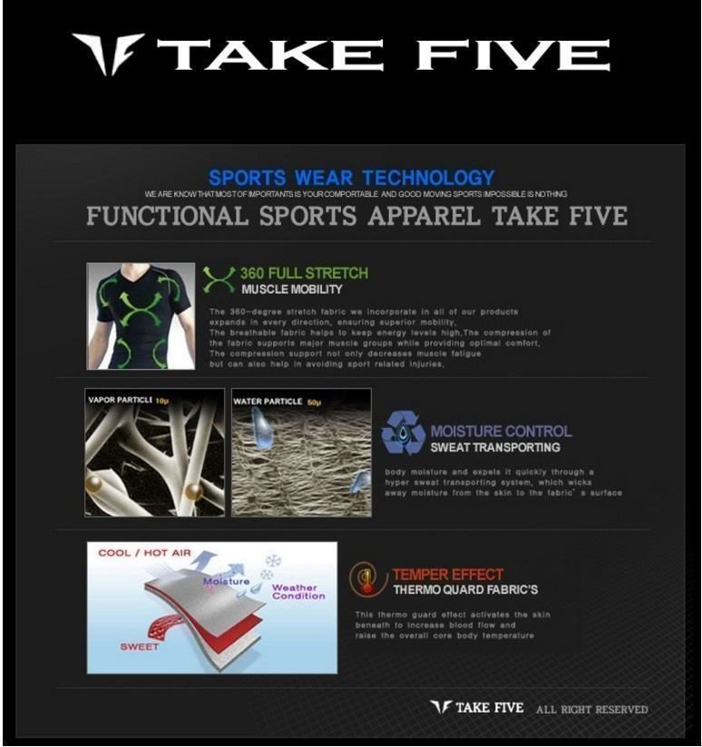 VINTER REA! ( 20%)Take Five; KompressionskläderSet 3 delarHenLarge [SL 2]