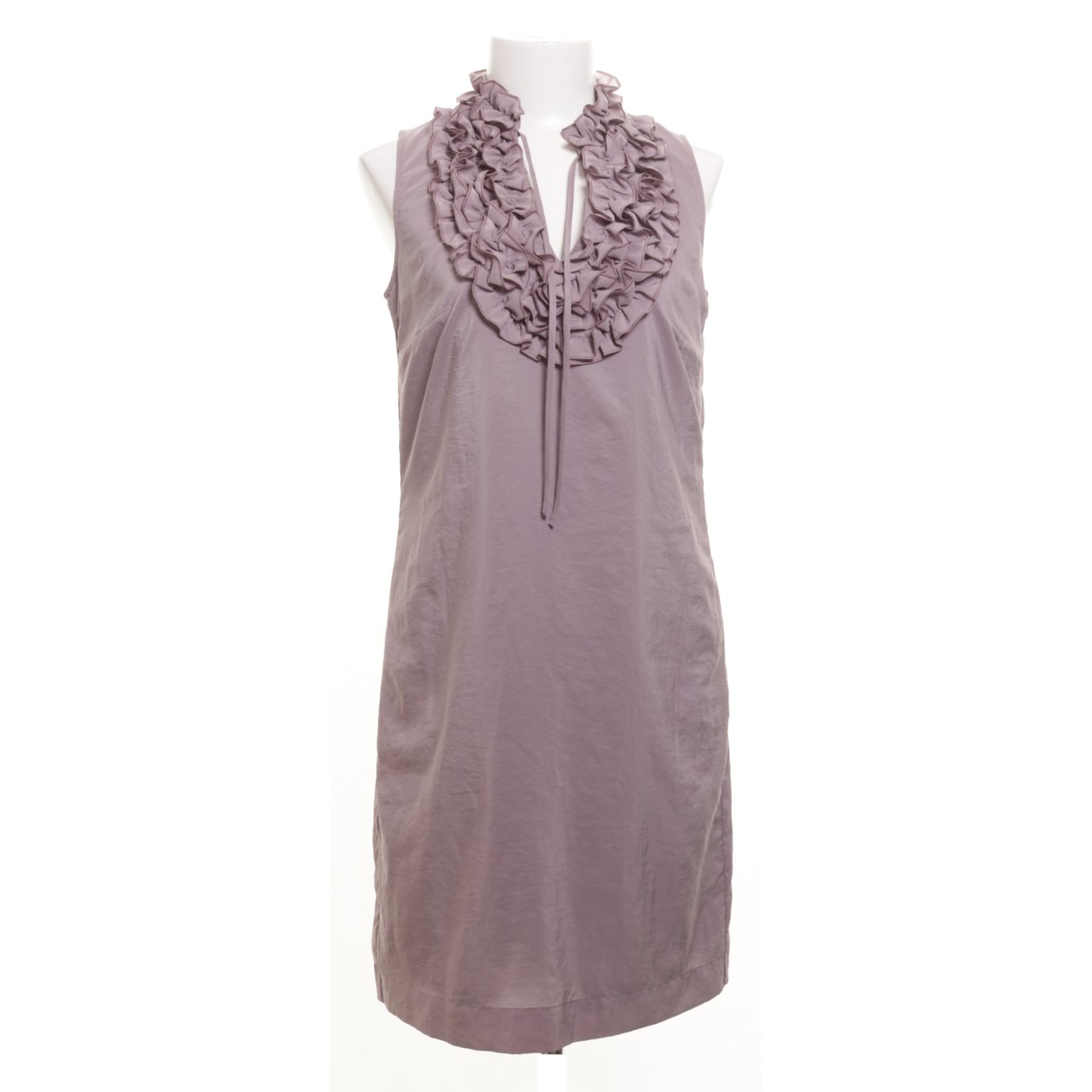 lila klänning esprit