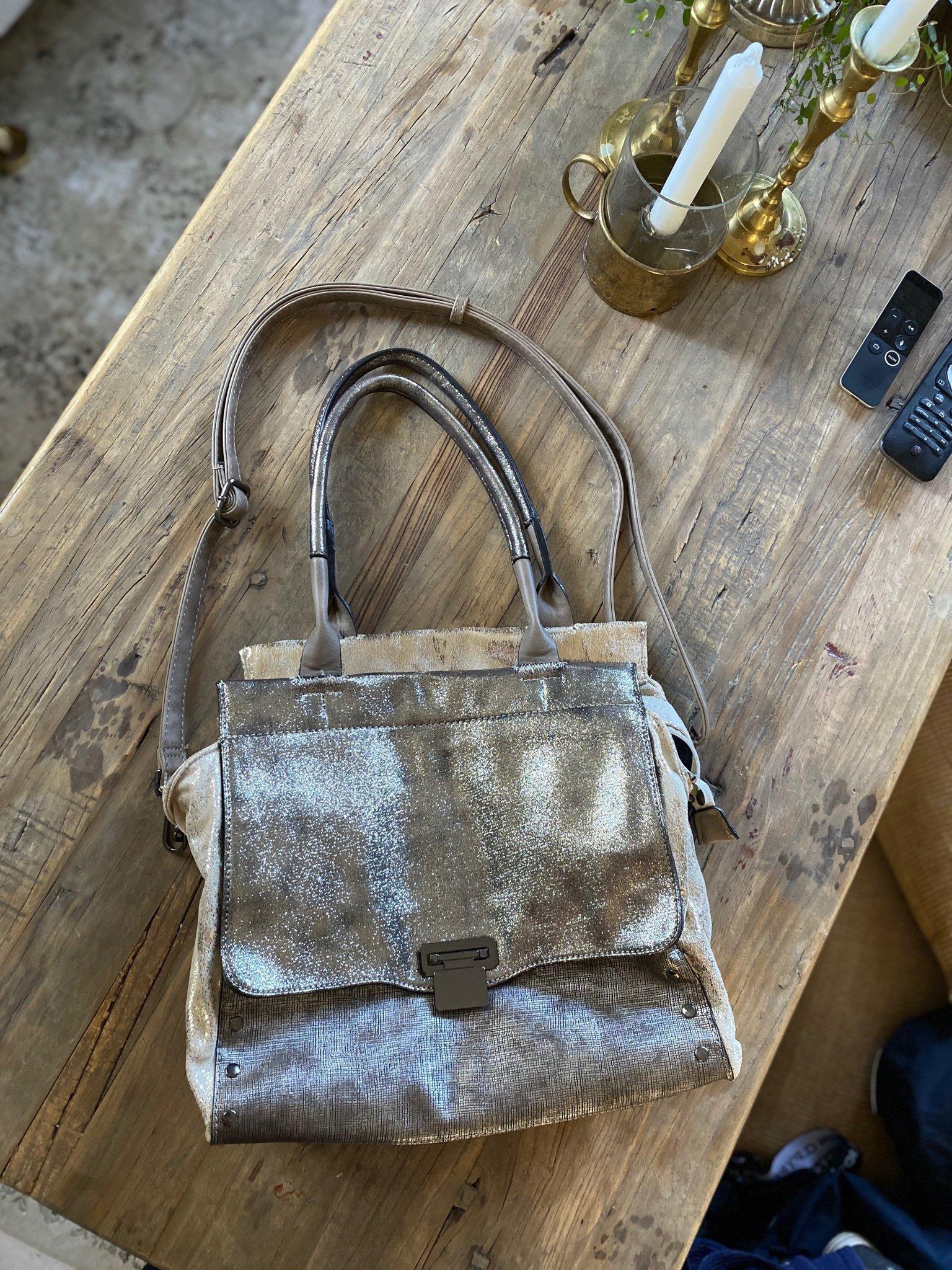 Jättefin lyxig väska fr Emily & Noah anv 1 gång Nyskick