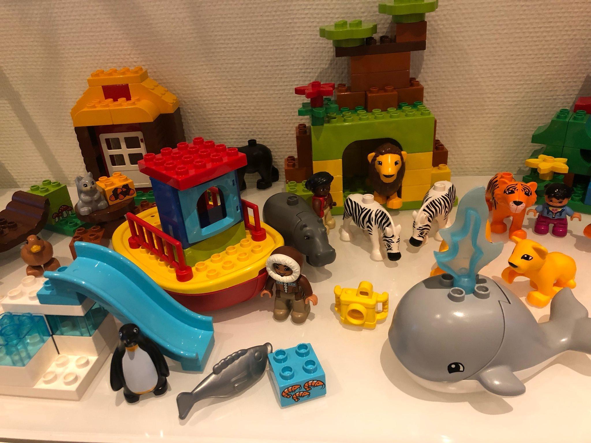 Lego DUPLO - jorden jorden jorden runt - djur och miljöer från hela världen 4abdb2