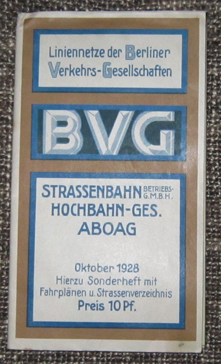 Karta Berlin Bvg.Berlin Karta Strassenbahn Hochbahn 1928 Se 337837569 ᐈ Kop Pa