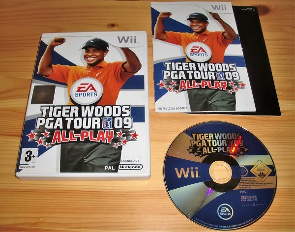 Wii: Tiger Woods PGA Tour 09 All-Play