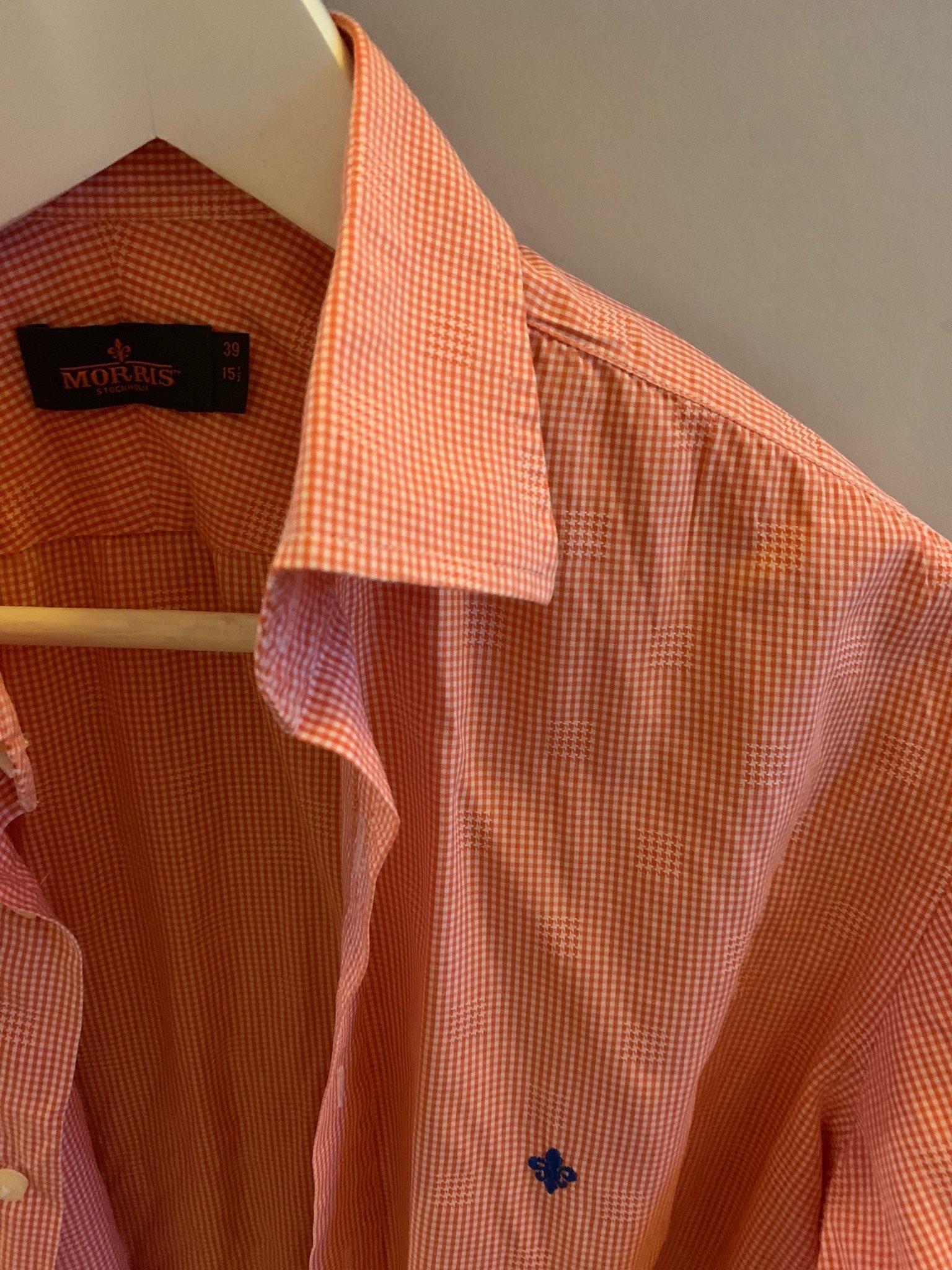 Morris skjorta i storlek 39 (333513654) ᐈ Köp på Tradera 3b65c7bfcd891