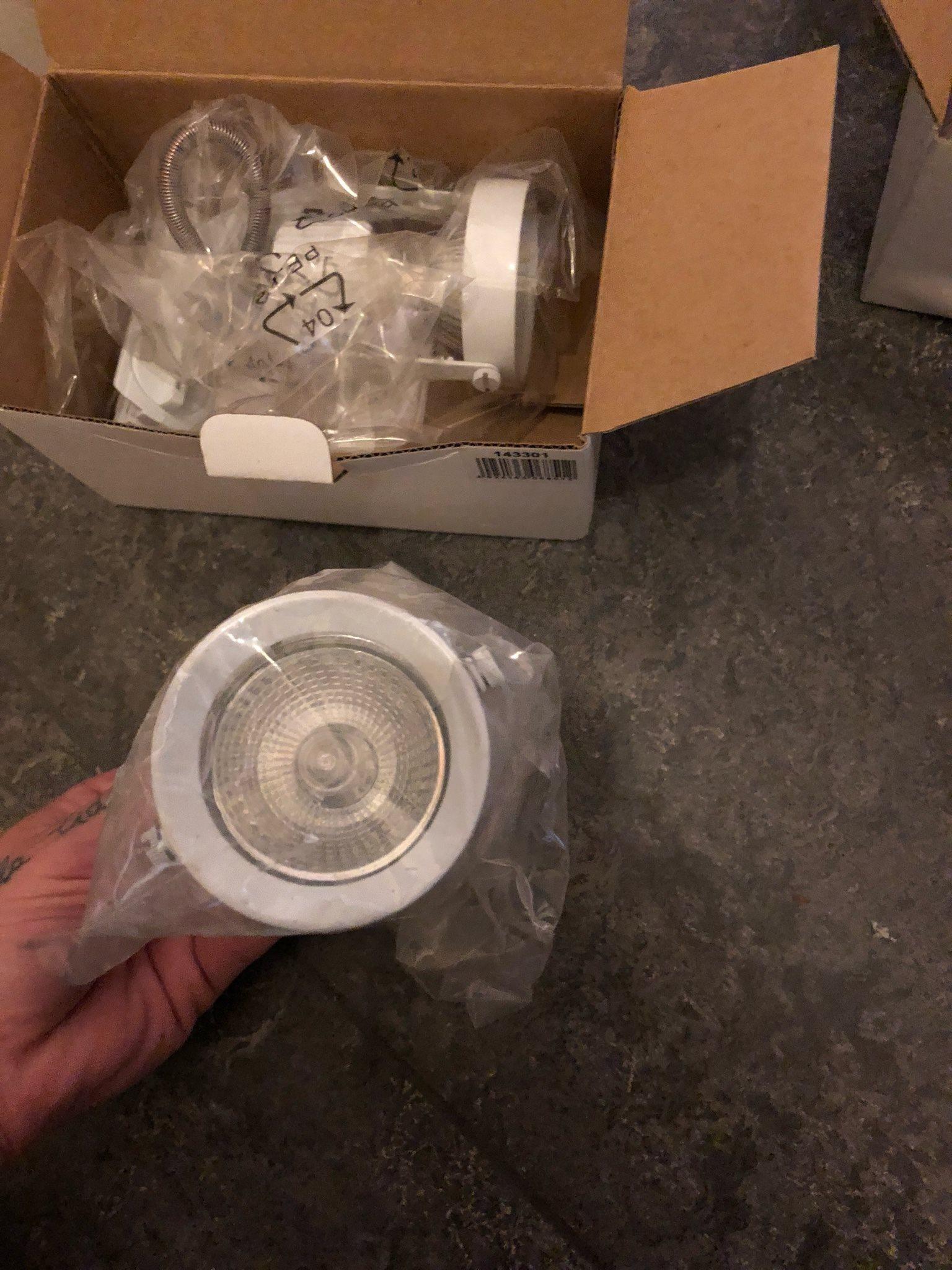 Spotlights lampor 6 st nya