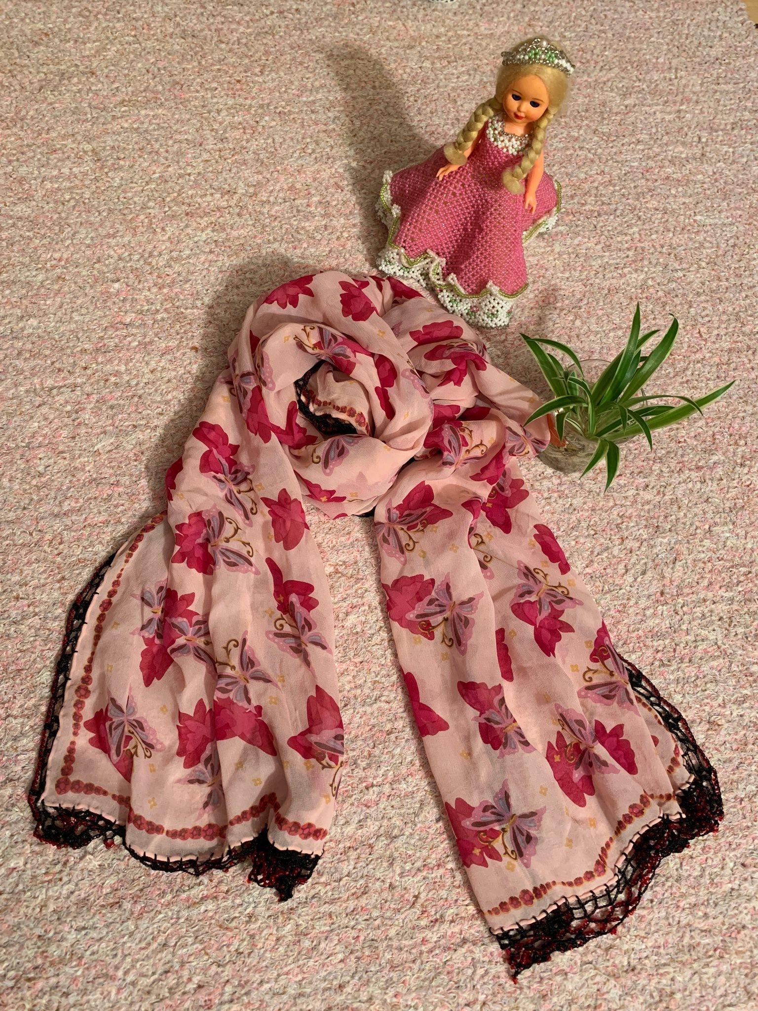 Ett vacker silke halsduk (335897265) ᐈ Köp på Tradera 50e0c42d8cd8c