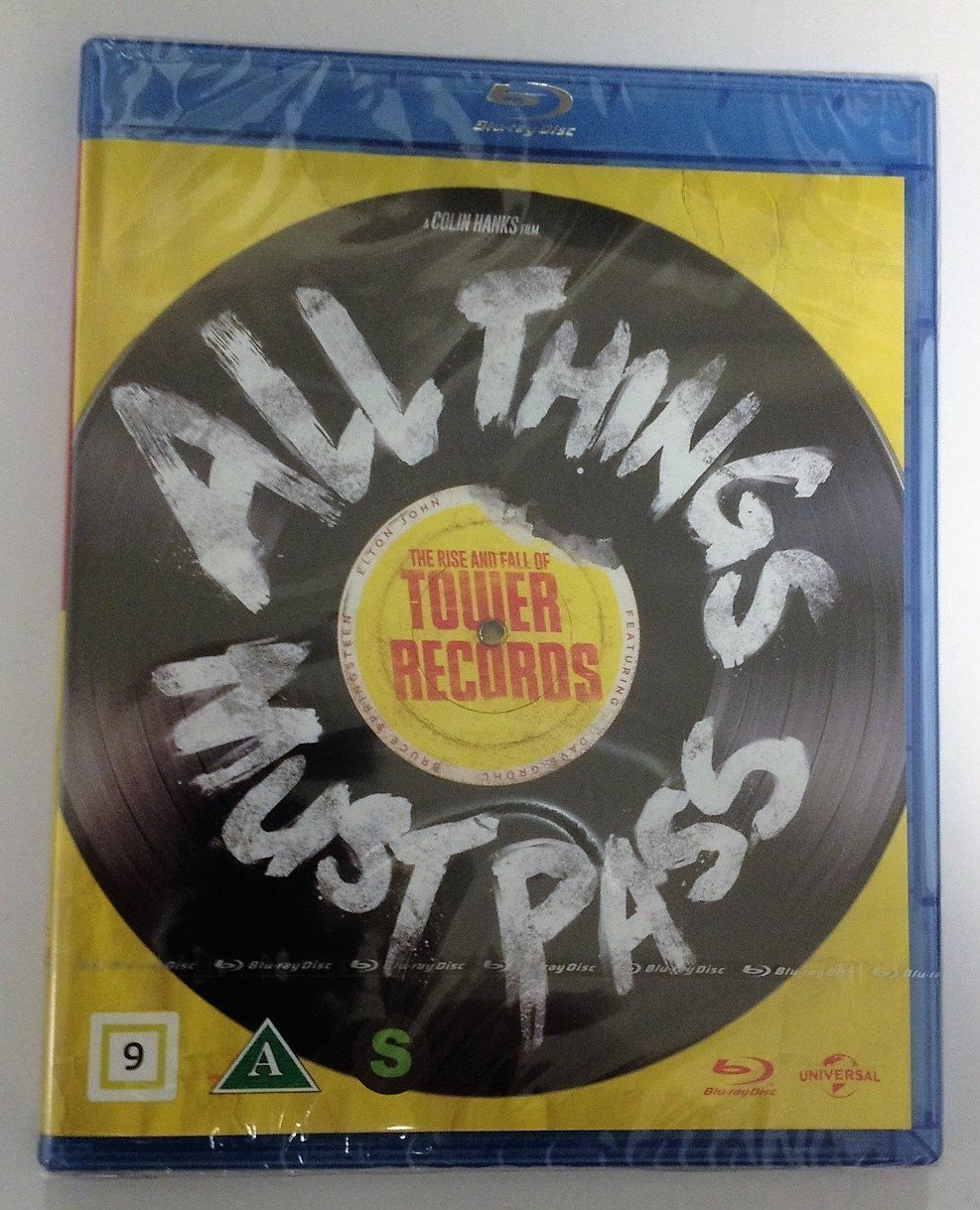 All things must pass - med Springsteen, Elton John m fl - obruten förpackning