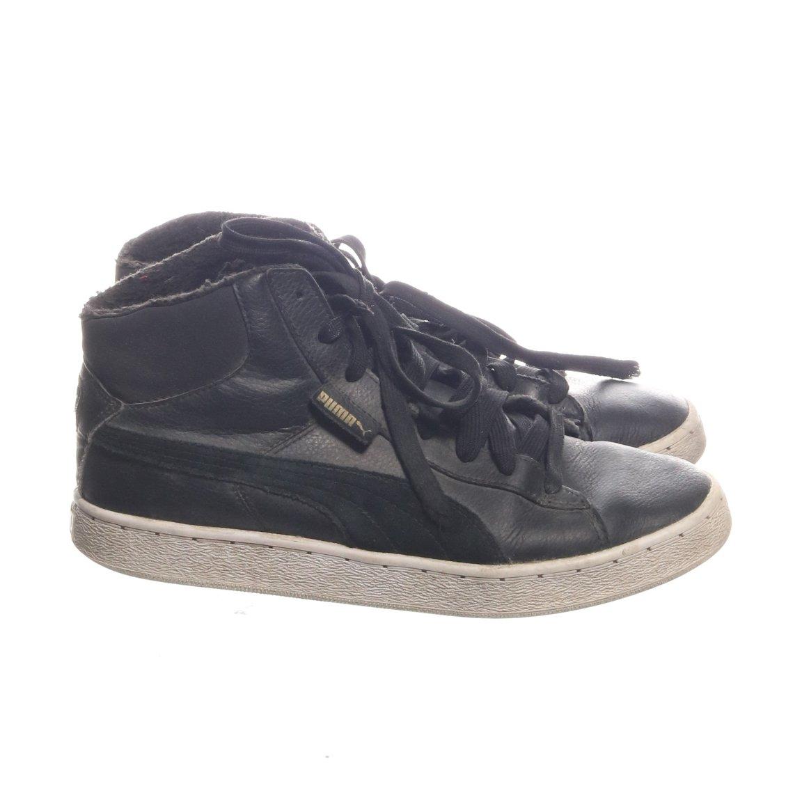 promo code cbfe7 48b96 Puma, Sneakers, Strl  39, Herr barn, Svart, Skinn