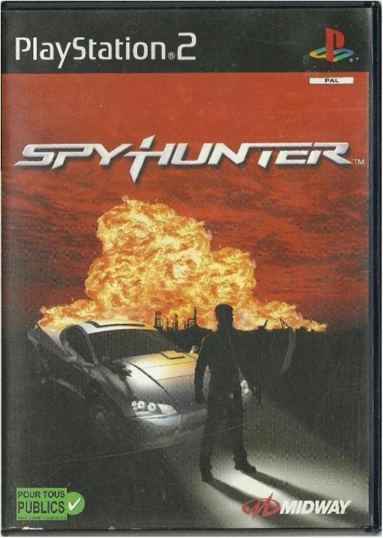 SPYHUNTER  ( PS2 SPEL )