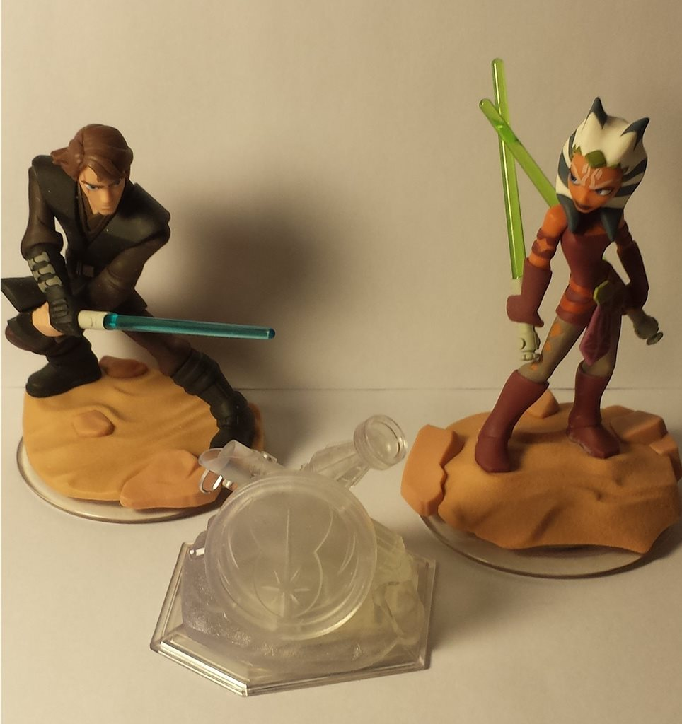Disney infinity playset Twilight of the republic + figurer