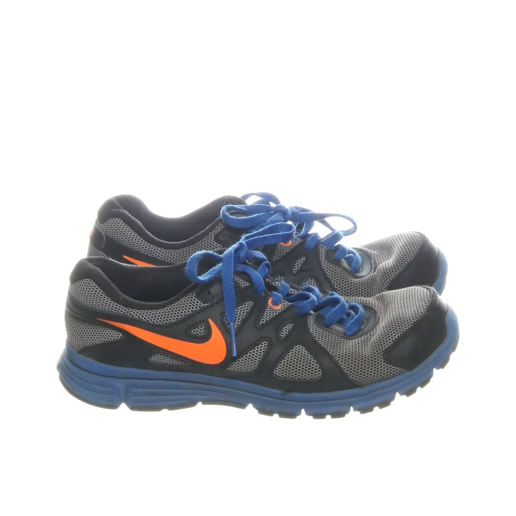 finest selection 947c2 2dcc4 Nike, Löparskor, Strl  36, Svart Grå Lila Orange