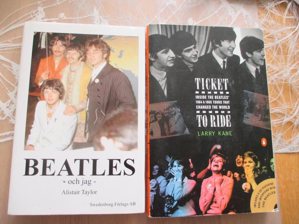 The beatles, Beatles och jag + Ticket to ride (inklusive CD)