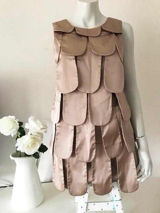 Flapper klänning Gatsby charleston guld champagne beige 30-tal stil retro I  Am eb8d1b30b3d0d