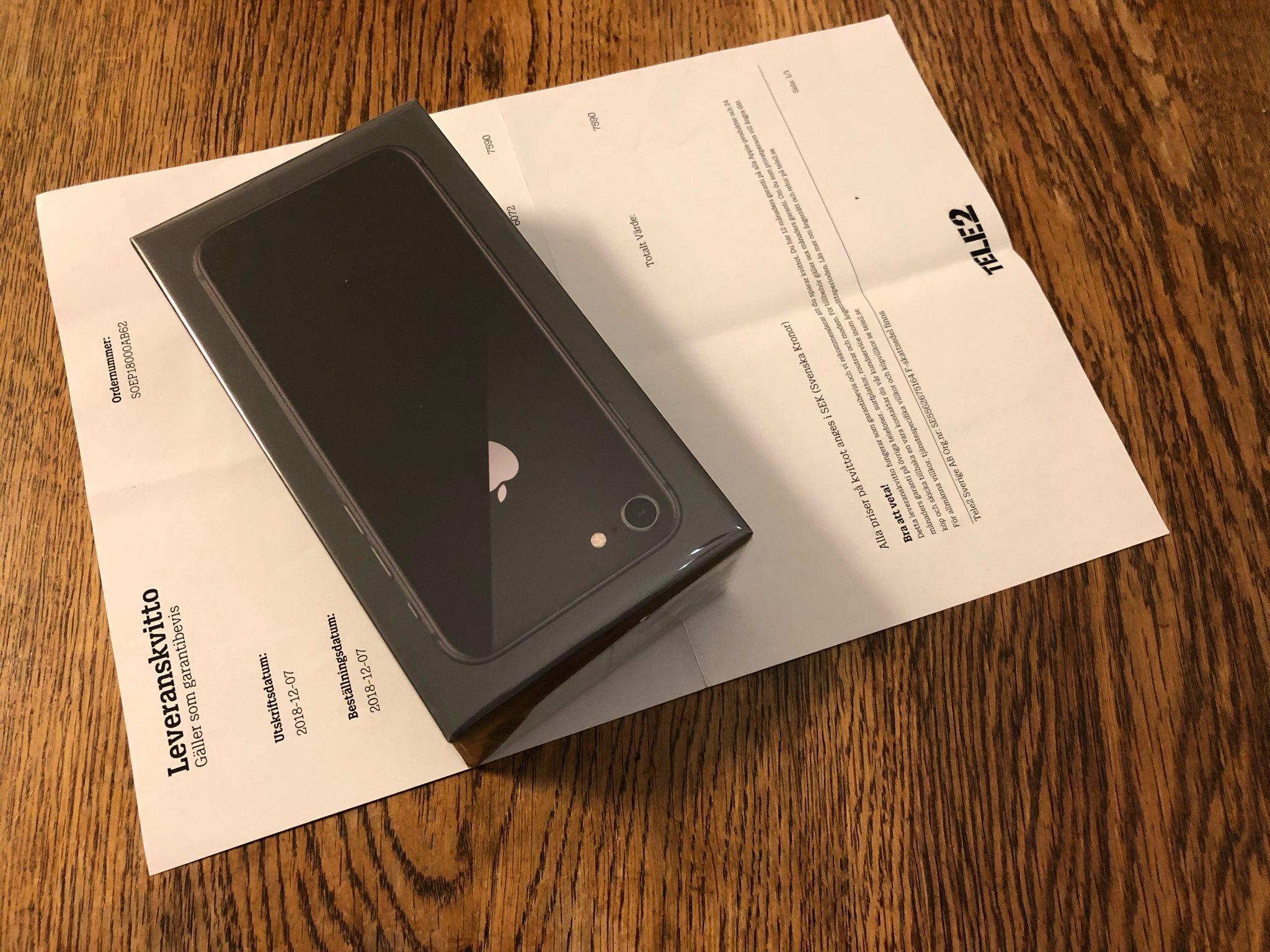 iPhone 8 64 gb olåst Ny i oöppnad box med kvitt.. (332788691) ᐈ Köp ... ad7064b4d7fcf