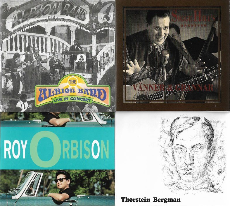 Albion Band + Roy Orbison + Sigge Hill + Thorstein Bergman